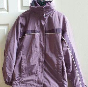 L.L Bean Women's Purple Coat/Jacket Sz Small